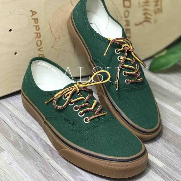 Vans Shoes - NWT VANS Authentic Gumsole Eden Boot Lace Green W